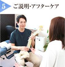 (5)ご説明・アフターケア